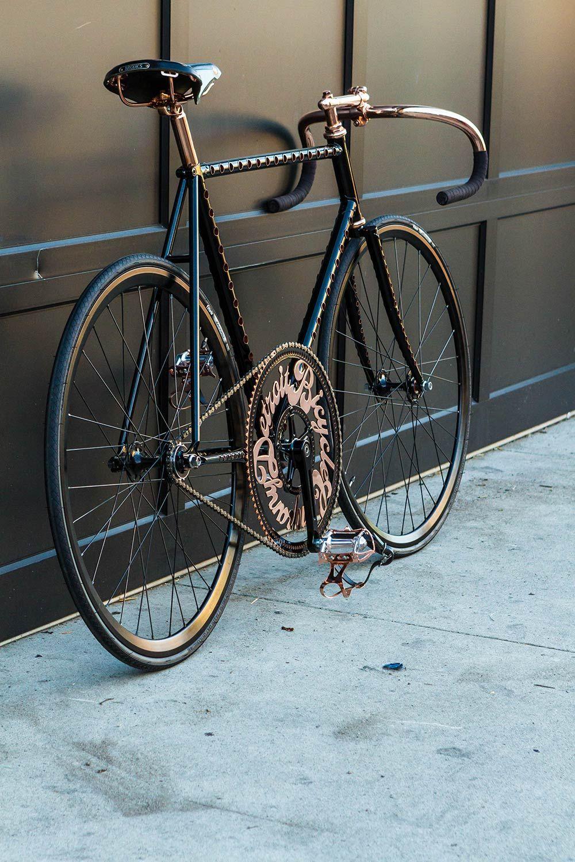 Detroit S Fastest Bike Fixie Bike Bicycle Bicycle Bike