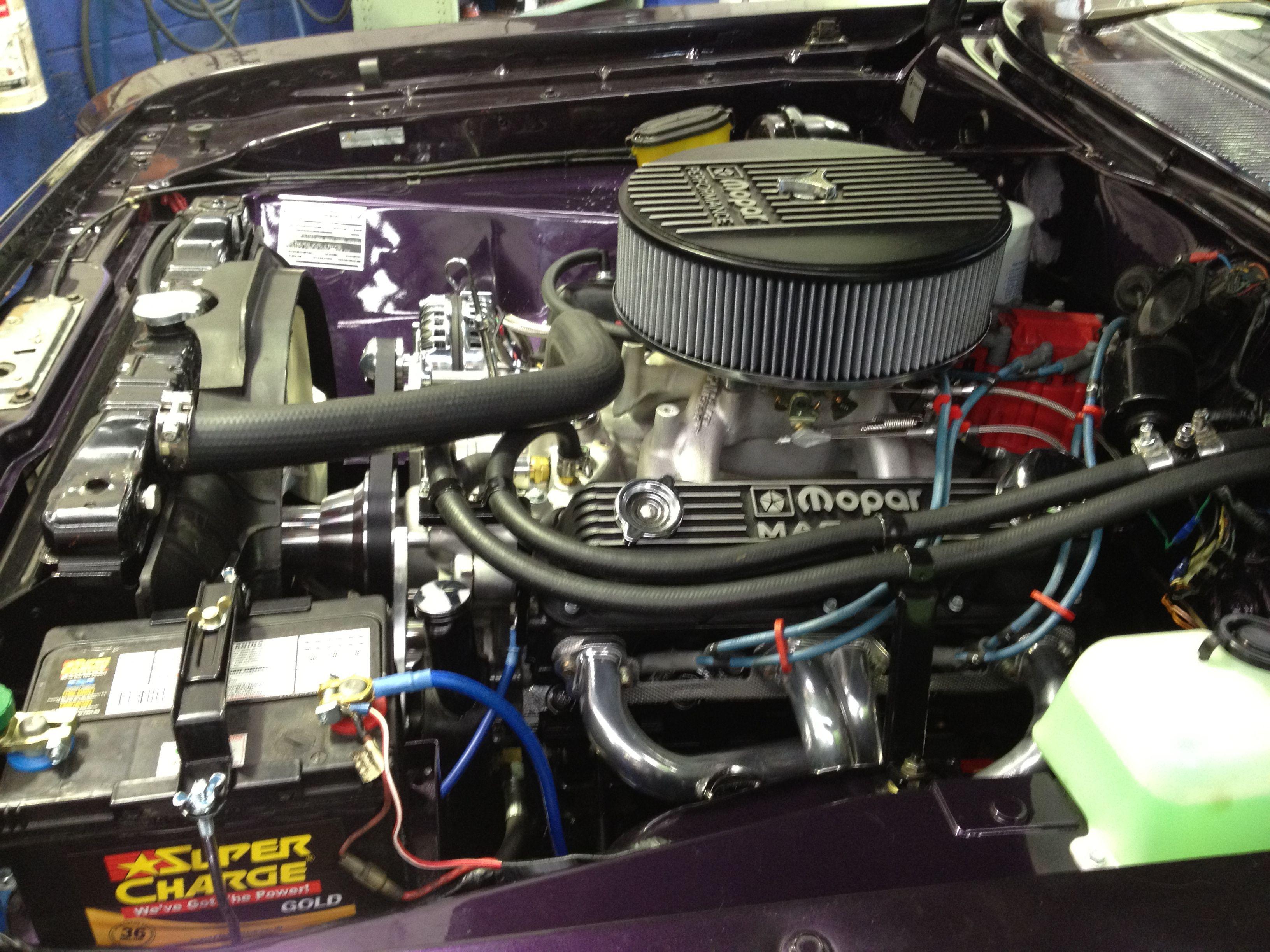 Blueprint engines customer tony bognunda has installed a chrysler blueprint engines customer tony bognunda has installed a chrysler 408 under the hood of his malvernweather Choice Image