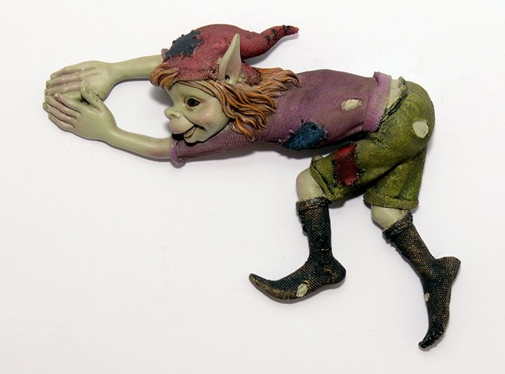 A goblin's name: Wall pixies  Size: 18 cm