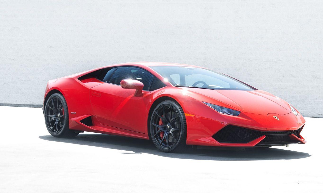 Red Devil Lamborghini Huracan with Vorsteiner wheels Car News