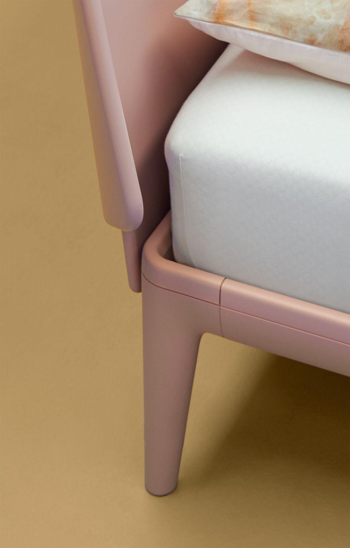 Auping Essential Skin Nude Rose Bedroom Schlafzimmer Bett