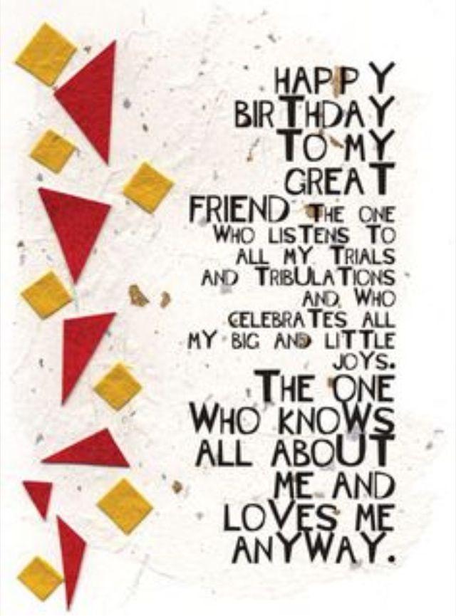 Birthday Happy Best Friend Quotes