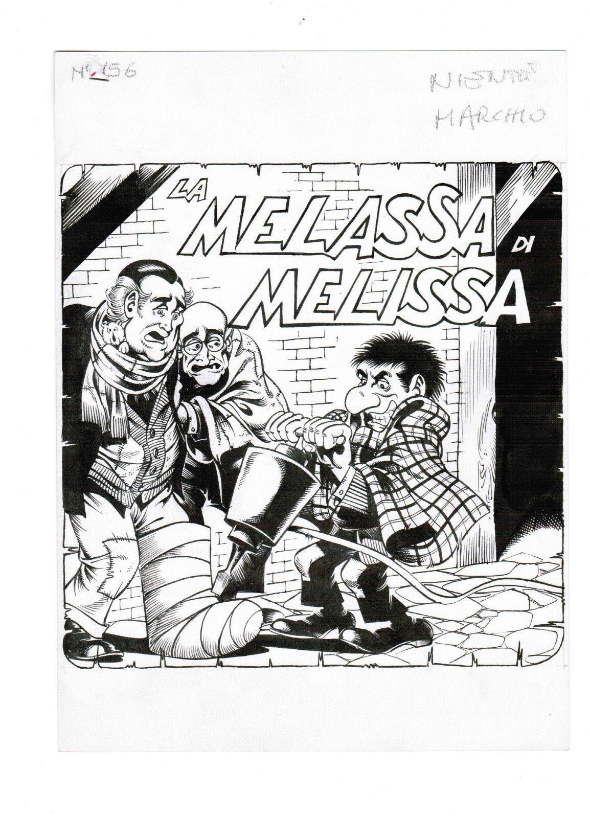 Alan ford gruppo t n t ubc enciclopedia online del fumetto - Paolo Piffarerio Tavola Originale Cover Alan Ford 156