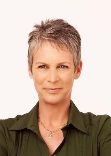 The Talented Jamie Lee Curtis Born November 22 1958 Actress Author Blogger Famous For Her Role In True Li Jamie Lee Curtis Jamie Lee Curtis Haircut Lee Curtis