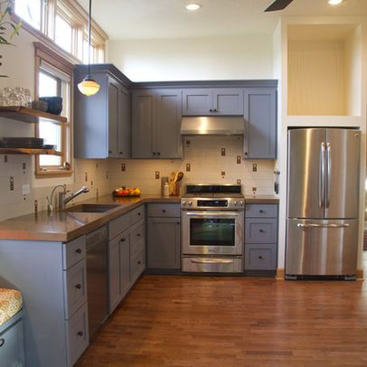 L Shaped Kitchen Design Ideas Pictures Remodel And Decor Kitchen Remodel Eclectic Kitchen Kitchen Designs Layout
