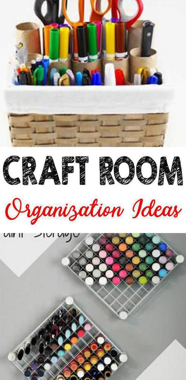 BEST Craft Room Organization! EASY DIY Ideas & Hacks – Storage – On A Budget – Closet – Shelves – Bins – Drawers – Inspiration To Get Organized images