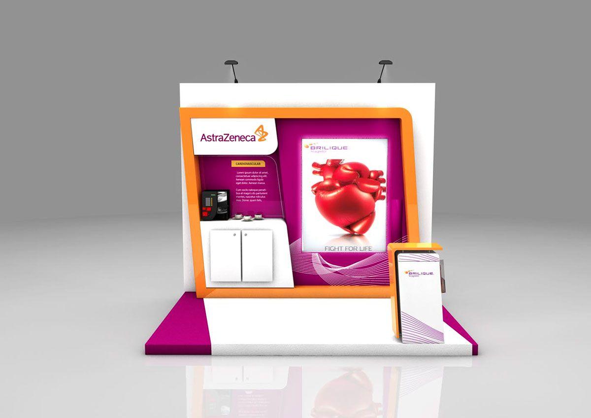Astrazeneca Exhibition Booth On Behance In 2020 Exhibition Booth Booth Design Exhibition Booth Design