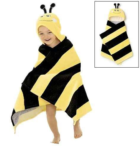Amazon Avon Bumble Bee Towel Childrens Hooded Bath Beach Unisex Cute Baby