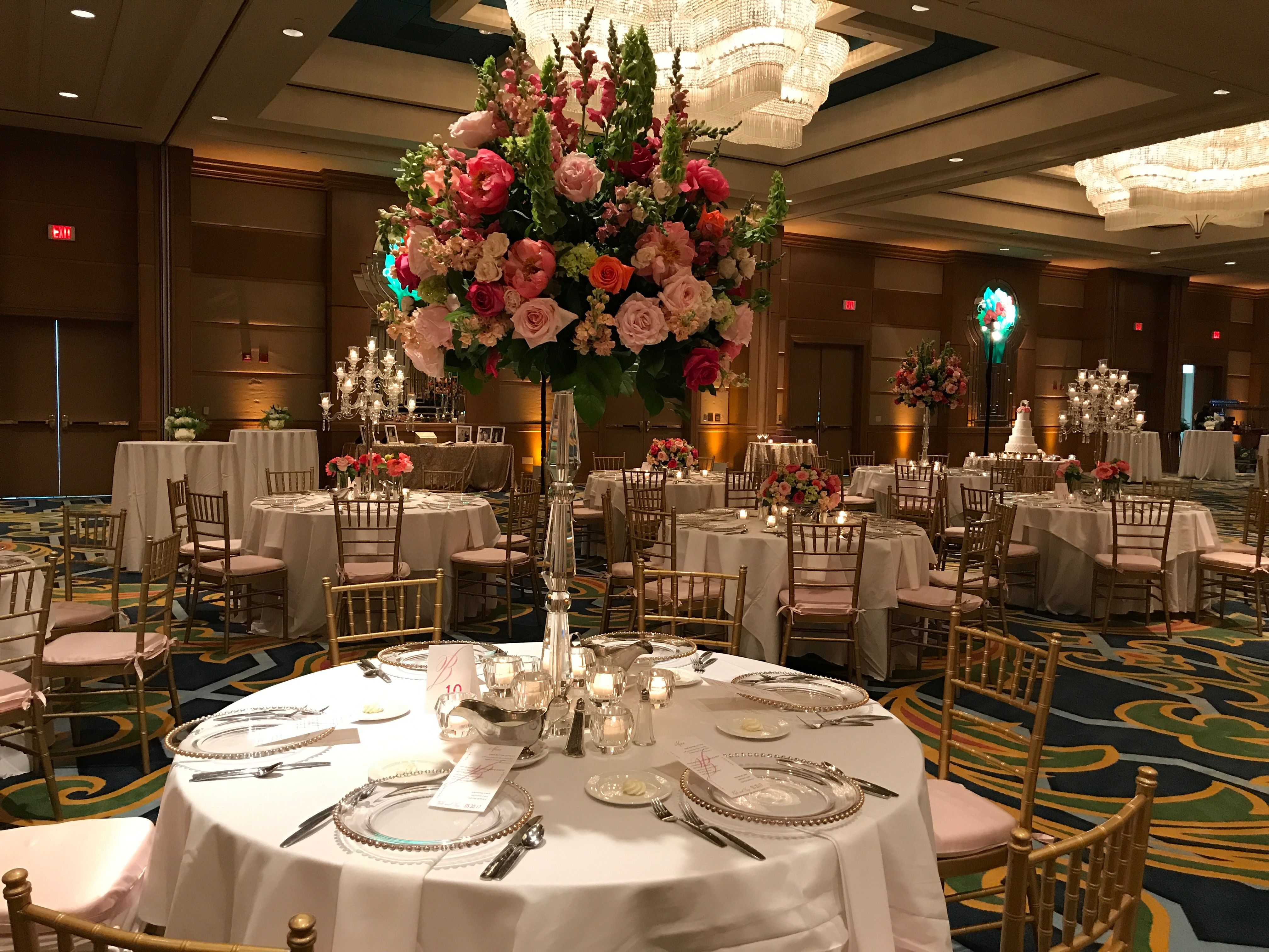 Centerpieces by Blooming Gallery at Moody Gardens Galveston Houston ...