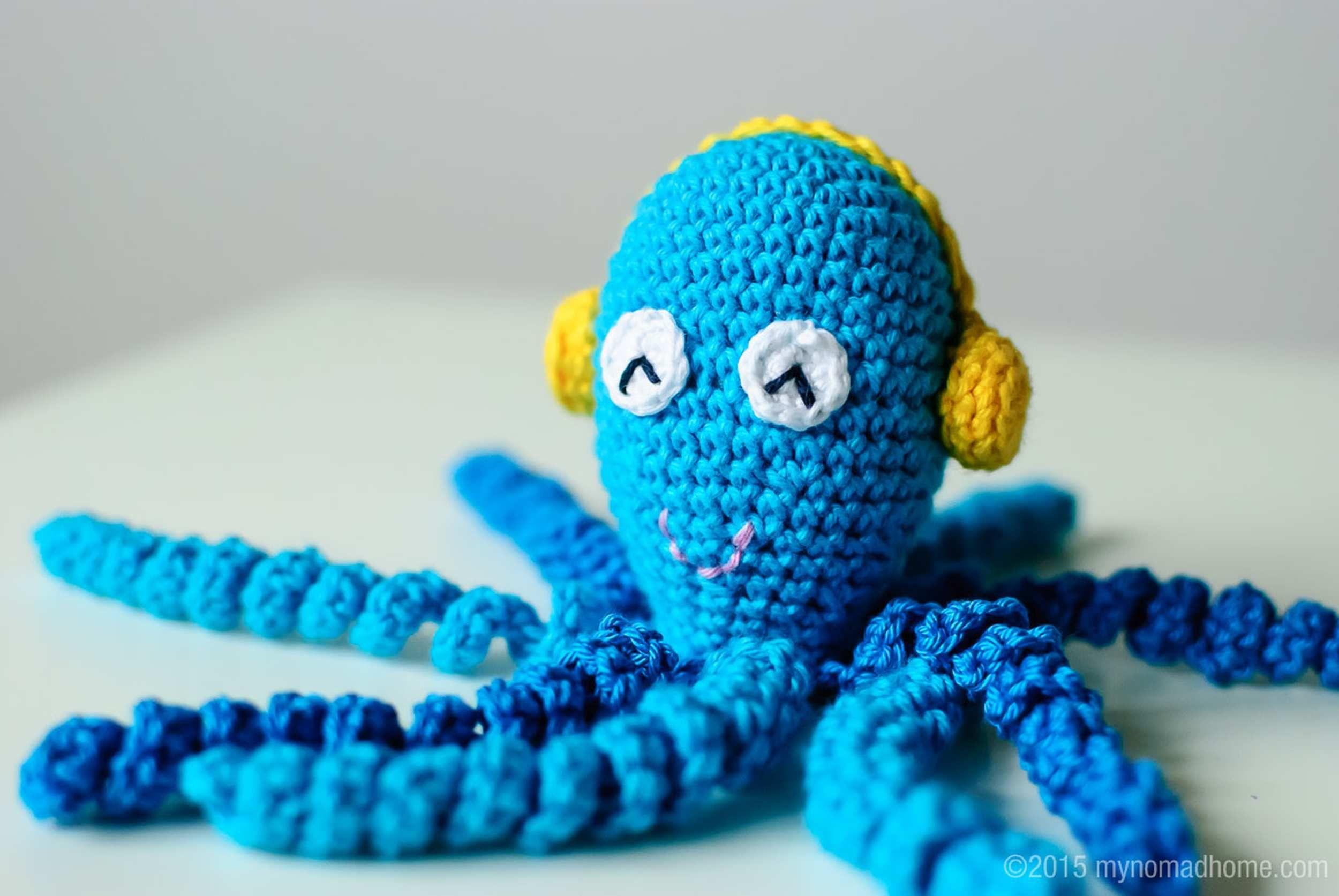 Octopus for a preemie / Ośmiorniczka dla wcześniaka - my nomad home ...