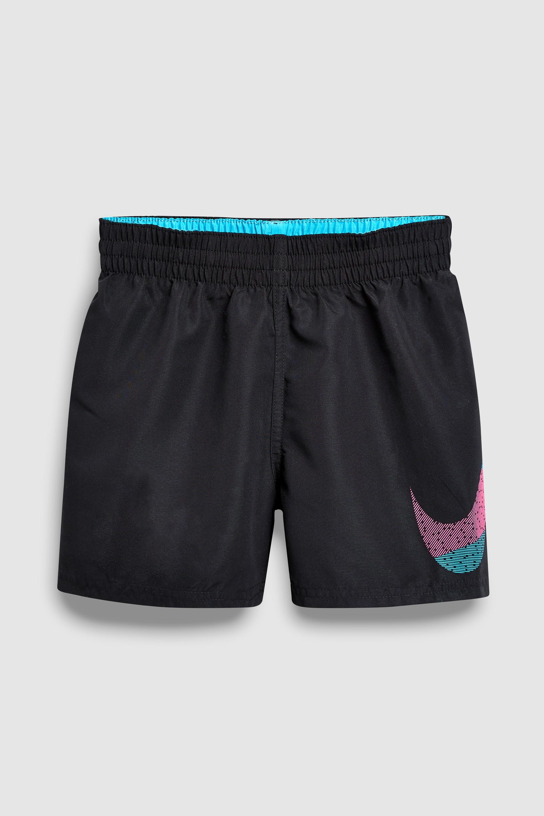 72616118154 Boys Nike Swim Black Mash Up Breaker 4