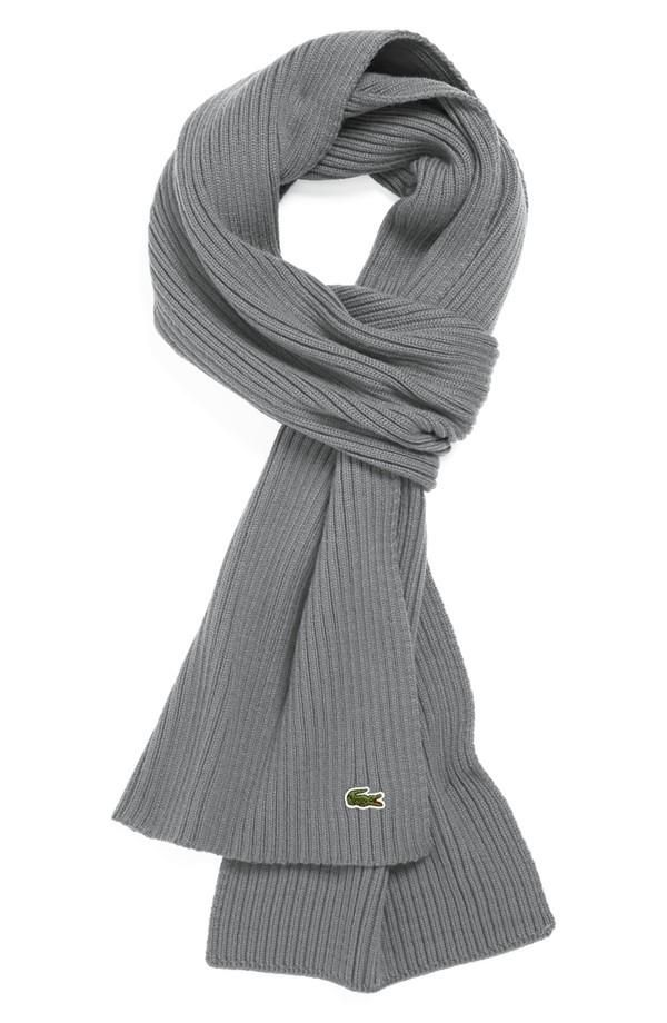 6f4868c19ba The everyday wool scarf Lacoste Clothing