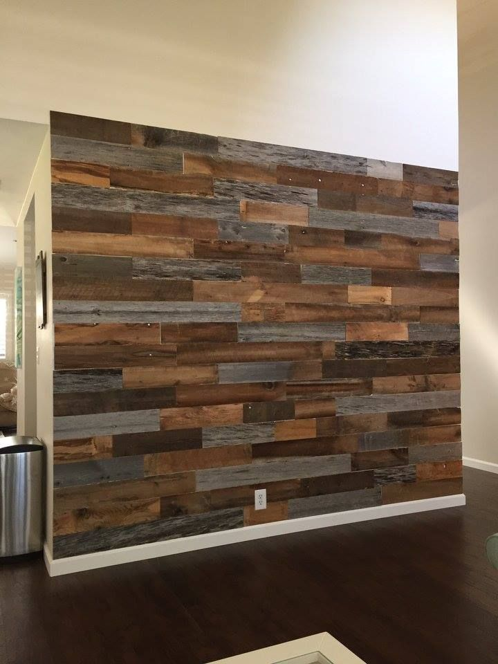 Shop Artis Wall 174 Authentic Reclaimed Wood Planks Wood