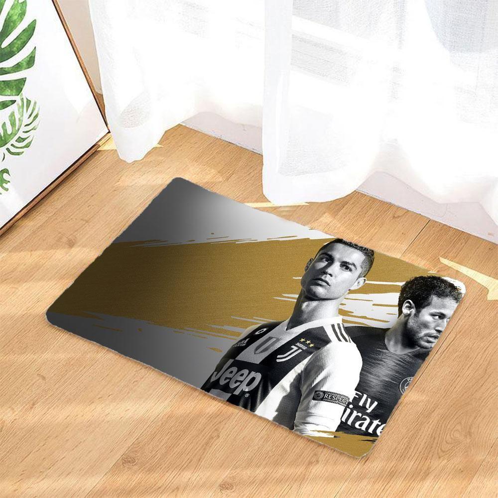 Fifa Fussmatte Baedmatte Rutschfest Und Waschbar Badezimmer Teppich With Images Shopping
