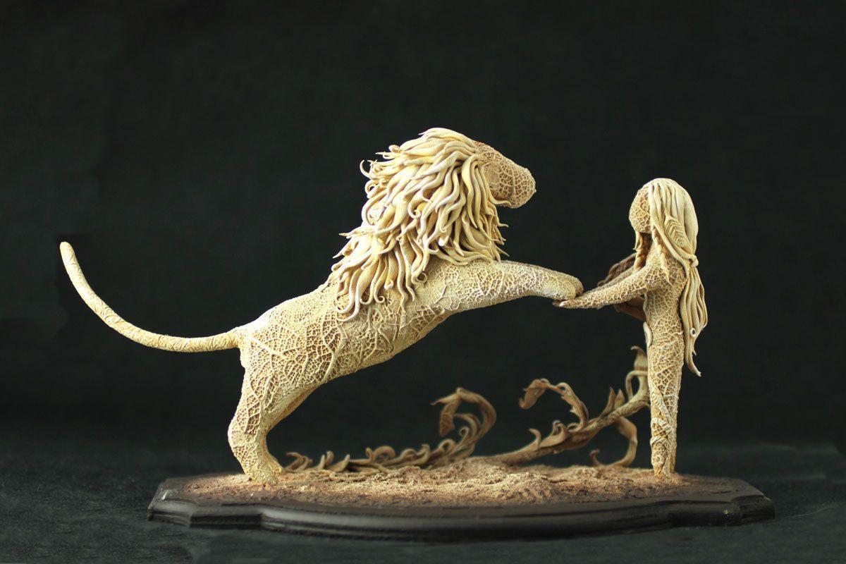 lion + human