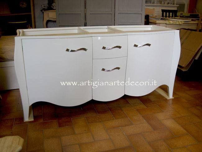 Bagno Bombato ~ Mobile bagno bombato artigianarte un bagno confortevole