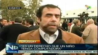 Gobierno uruguayo entregó computadoras a todos los escolares