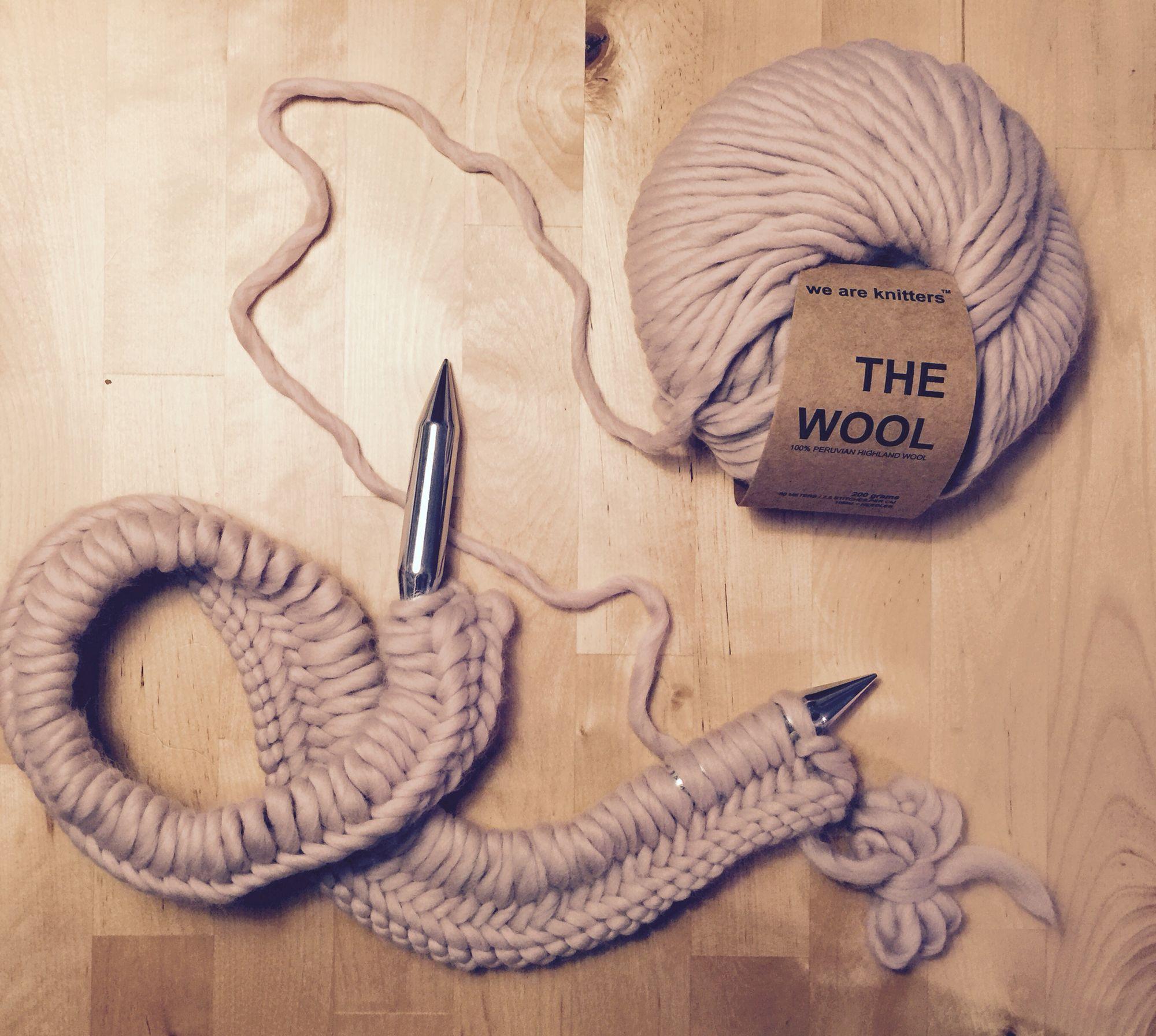 weareknitters #wak #herringbonestich #blanket #fischgrätmuster ...