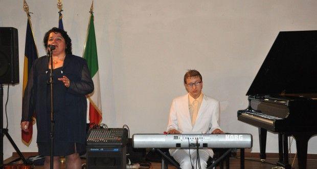 Teodora Badiu e Iulian Stoica in concerto alla Accademia Romena di Roma