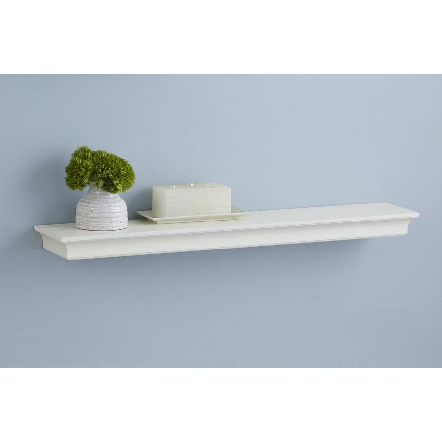 allen + roth 30-in W x 2.64-in H x 8-in D Wall Mounted Shelving | Oh ...