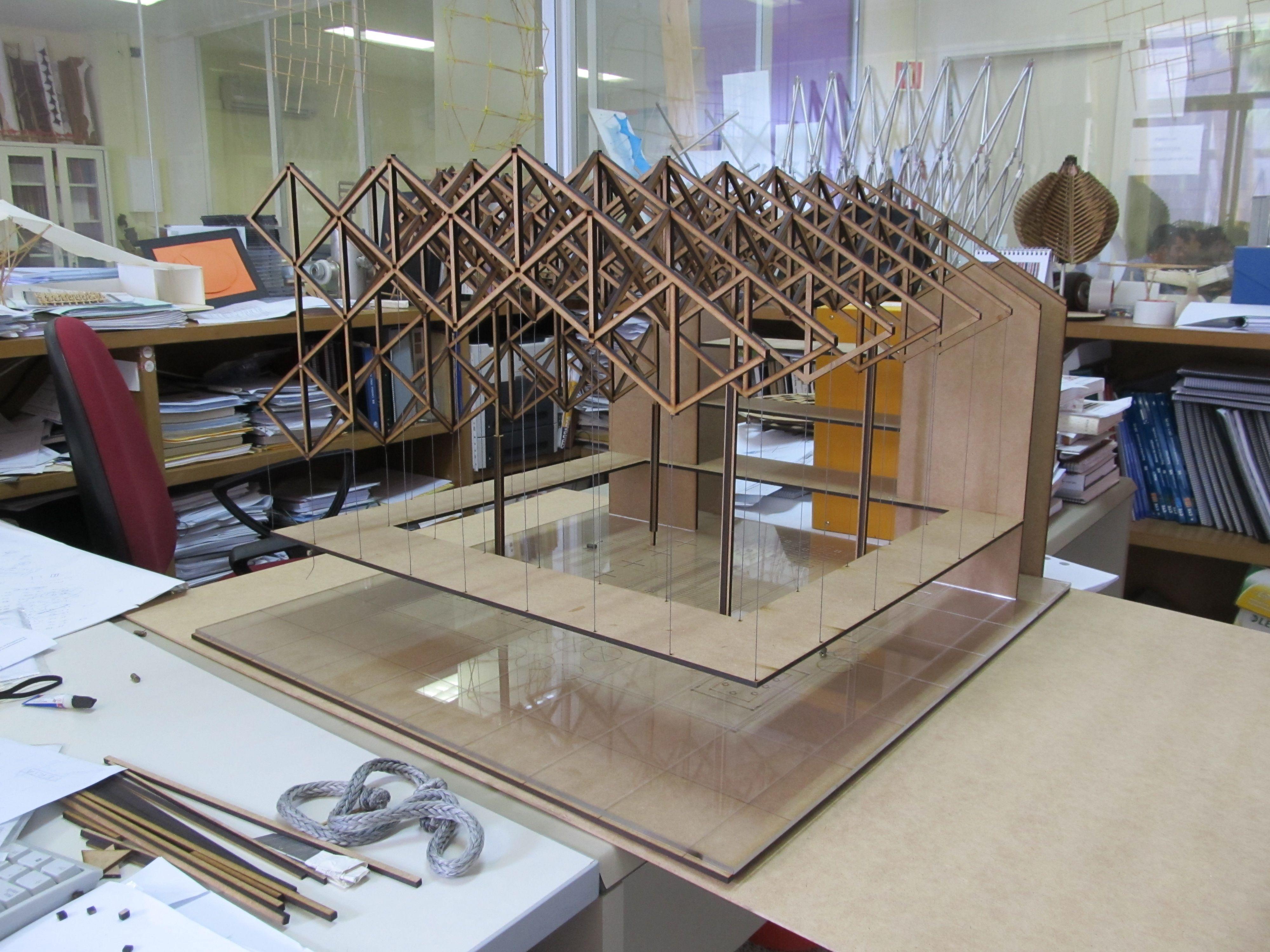 Estructuras especiales etsa universidad de sevilla maquetas de alumnos escuela tecnica - Arquitectura tecnica sevilla ...