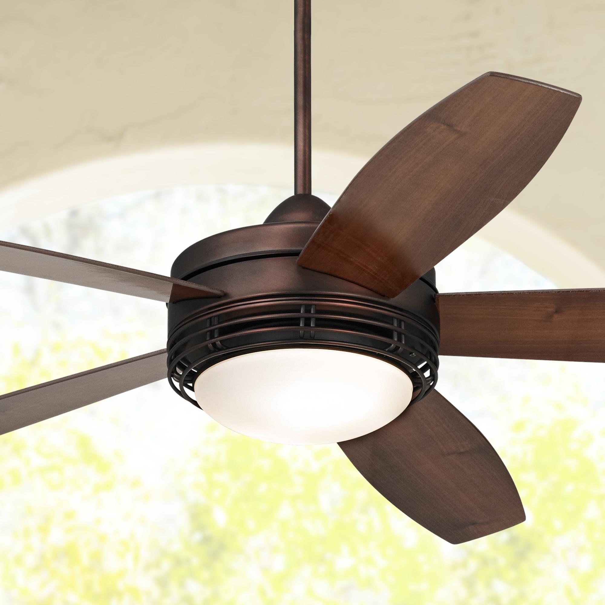 """60"""" Casa Province™ Bronze Outdoor Ceiling Fan"""