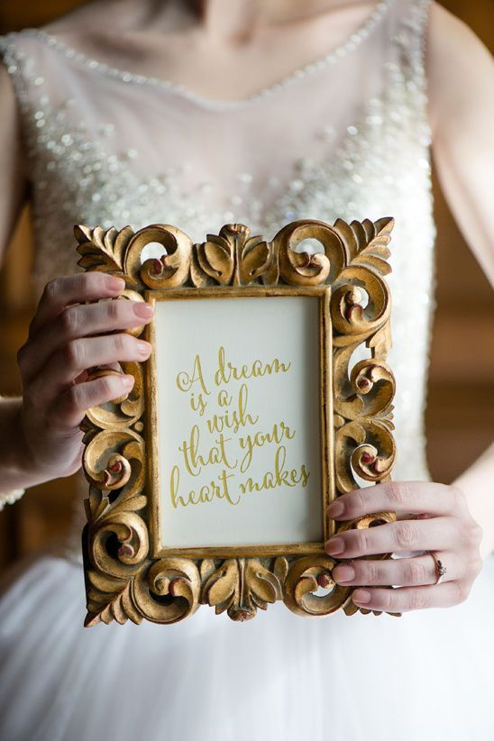 Beautiful ideas for an all grown up disney wedding iconic quotes beautiful ideas for an all grown up disney wedding iconic quotes and phrases are a fun thing to weave into your wedding details a few frames of junglespirit Gallery
