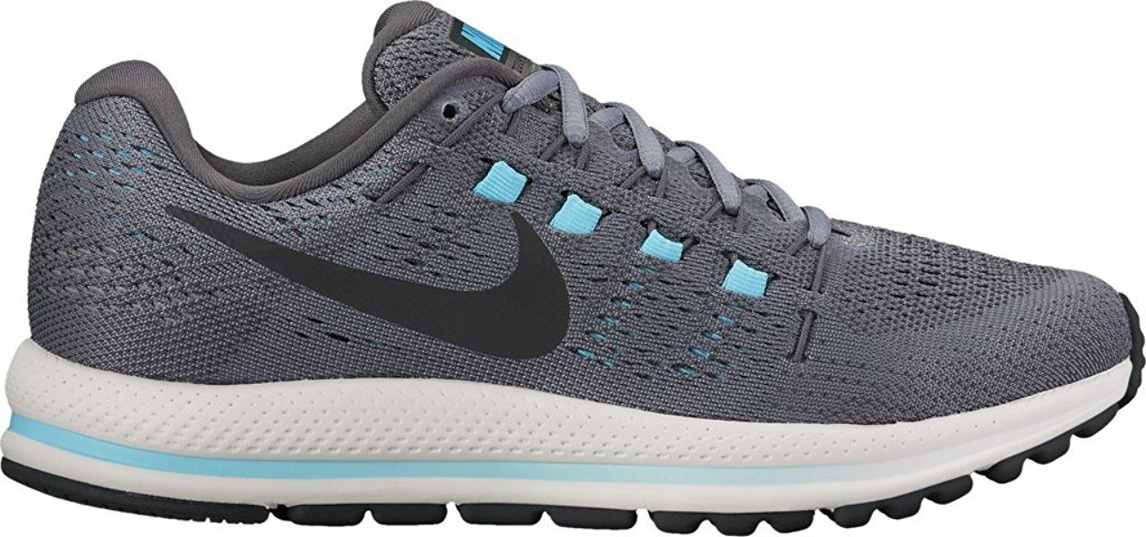 Nike Womens Air Zoom Vomero Cool Grey/Black-dark Grey-glacierBlue