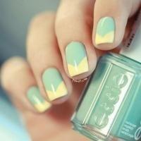 14 allerleukste pastelnagels van pinterest  simple nails