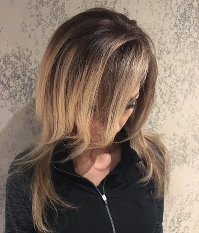Color by Deidra. Balayage hair, dimension, deep roots, highlights ...