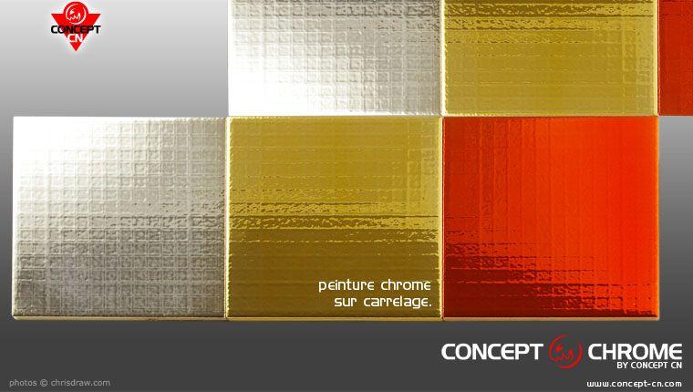 Peinture Chrome Pour Decoration Carrelage Faience Deco Cuisine
