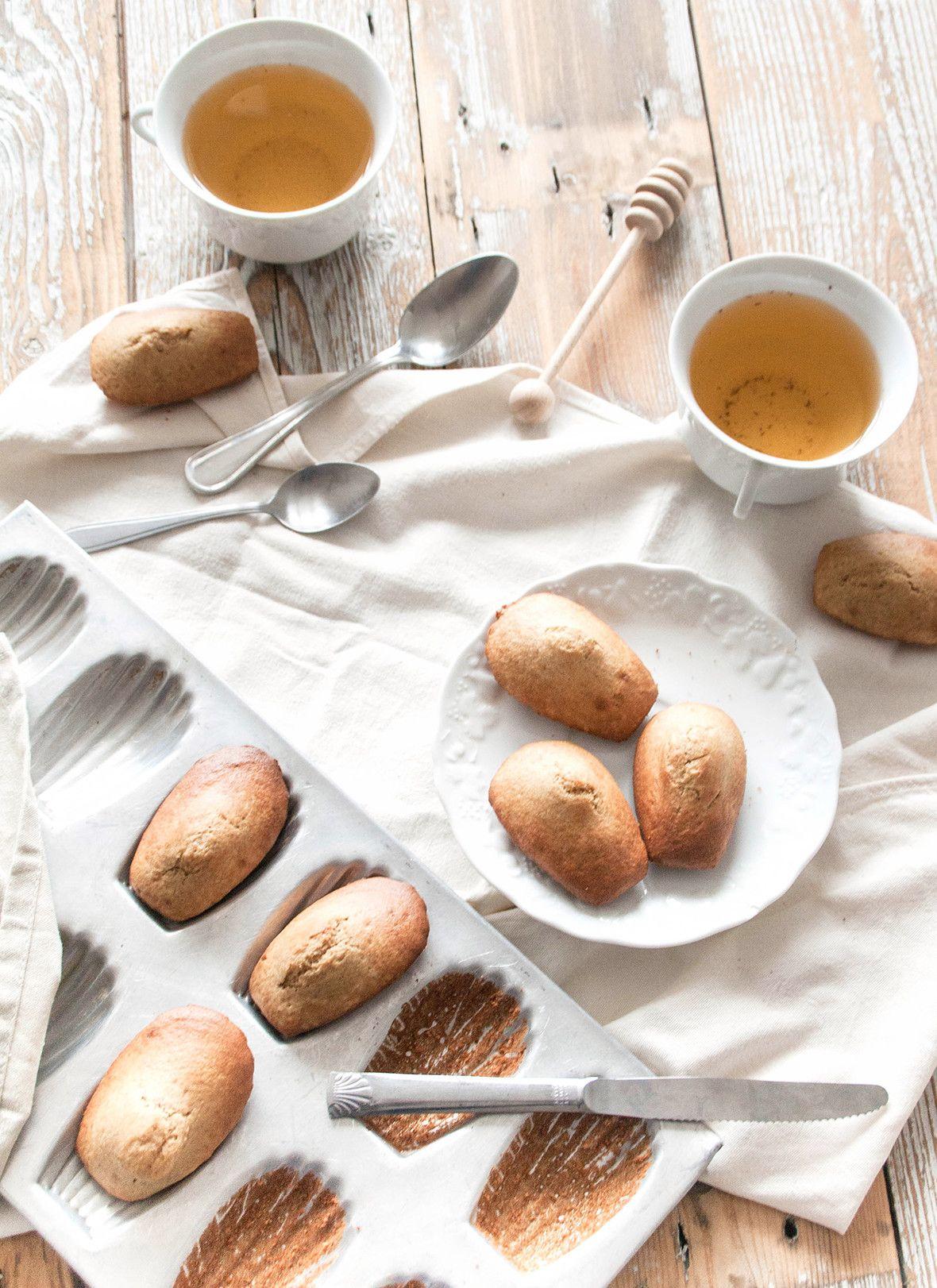 Madeleines A La Fleur D Oranger Recettes Vegan Pinterest