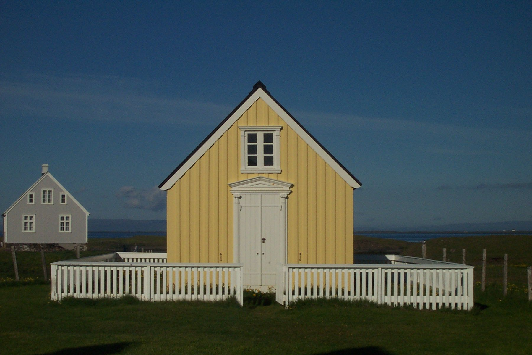 The oldest library house in Iceland can be found on the