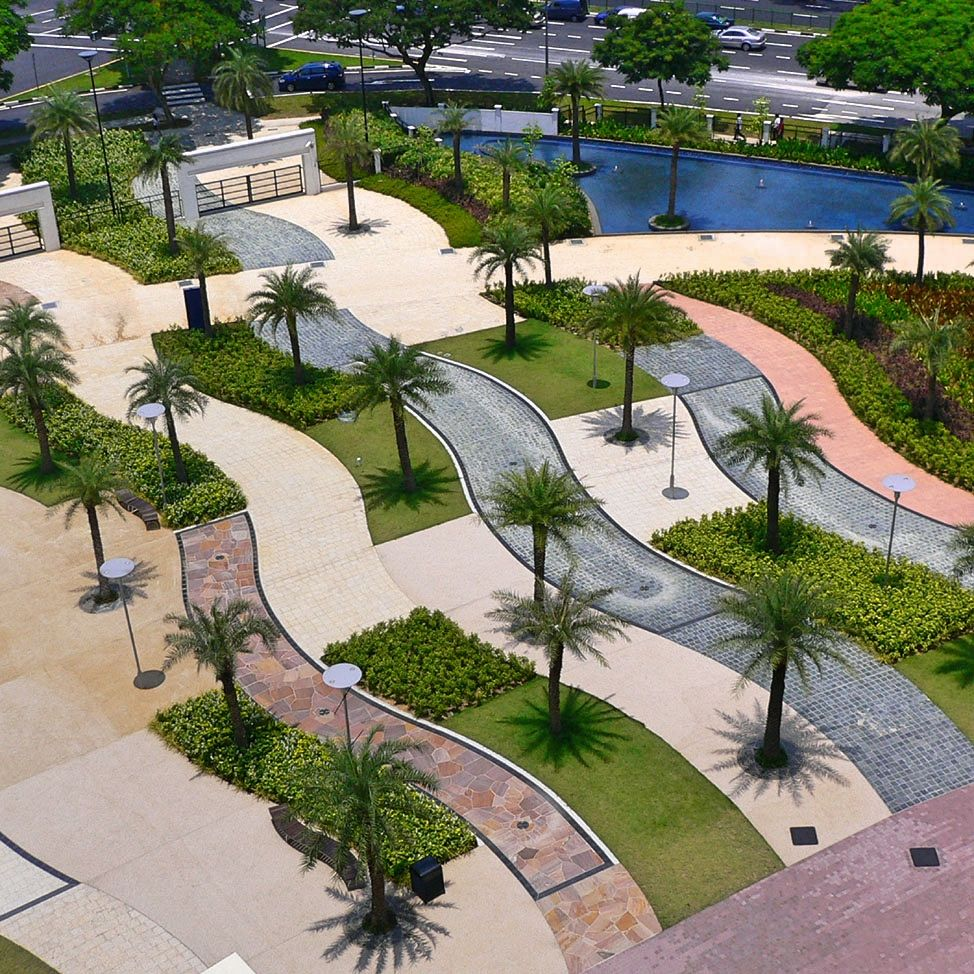 ITE College East Landscape Architecture by STX Landscape