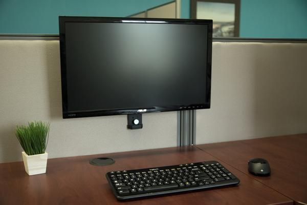 Mount Cub1 Cubicle Monitor Mount Monitor Mounts