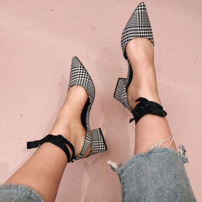 Dime tu estatura y te diré con qué zapatos harás match