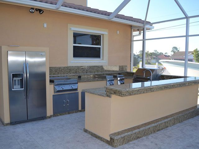 Backyard Masters Carries Twin Eagle Outdoor Kitchen/Barbecue Products.  Design Your Own Outdoor Kitchen