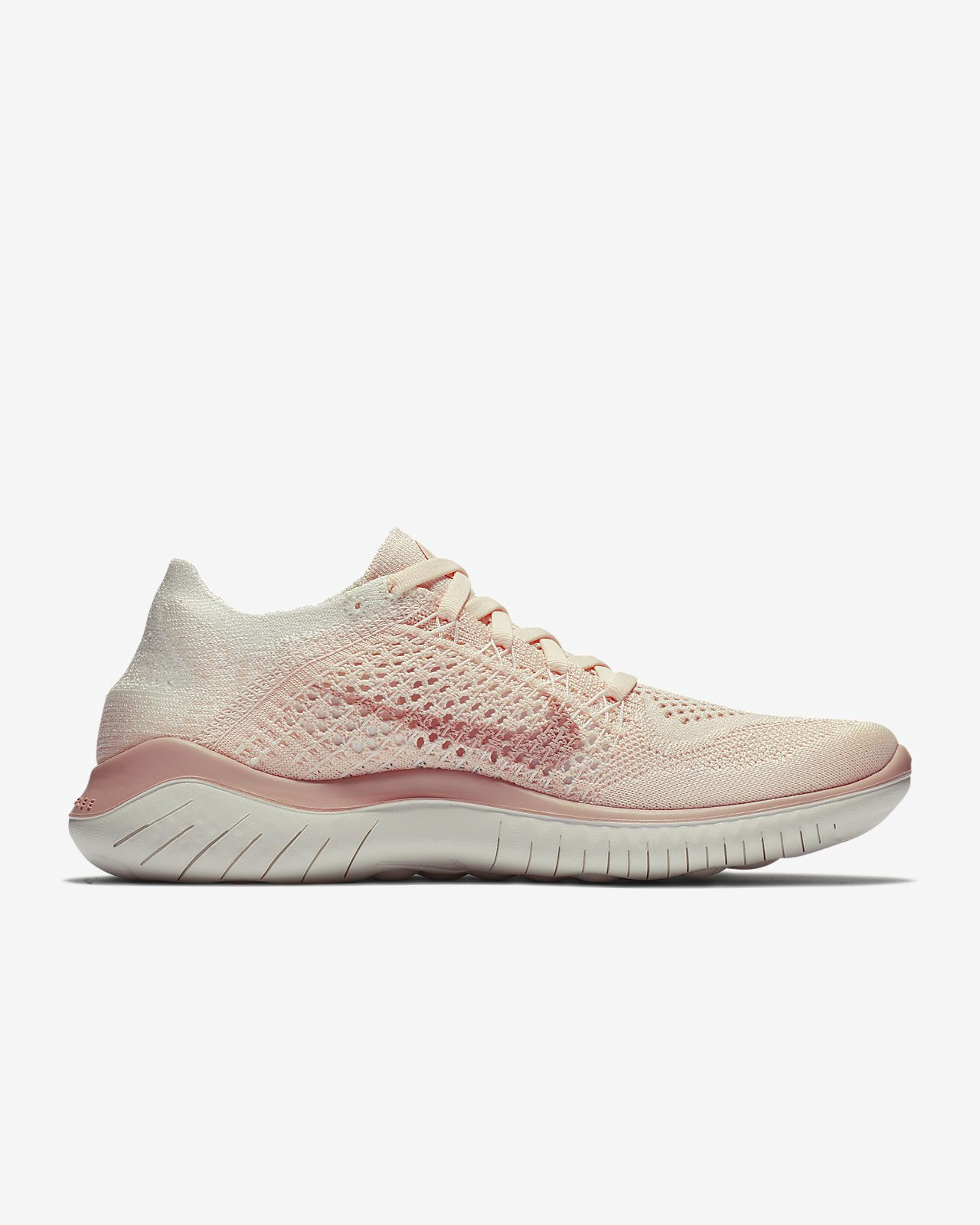 the latest e31dc 1b9f8 Nike Free Rn Flyknit 2018 Womens Running Shoe - 11.5 Beige