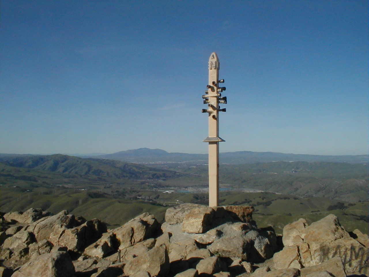 Mission Peak Is A Public Park East Of Fremont California The
