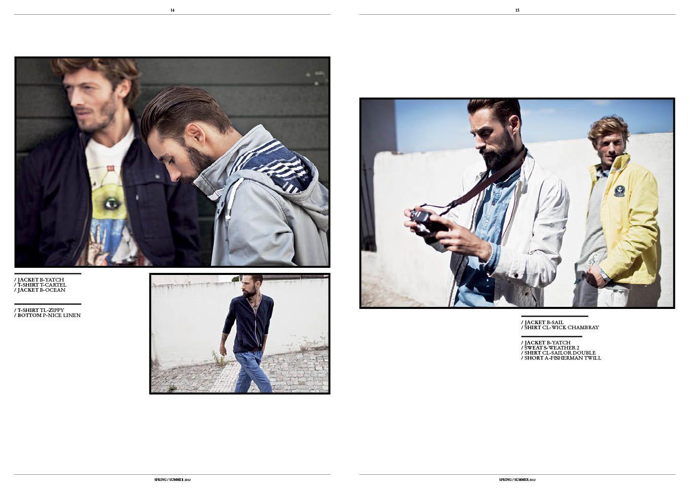 Chevignon catalogue p14-15
