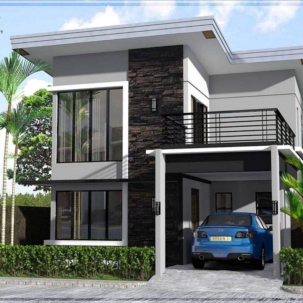 5 Desain Rumah Minimalis 2 Lantai Ukuran 6x9 Terbaru 2019 Denah