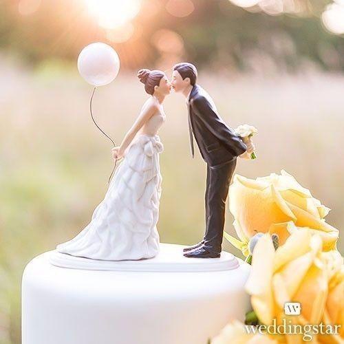 Cake Topper Figurine De Gateau De Mariage Romantique
