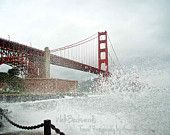 Crashing Waves on the Golden Gate Bridge | San Francisco, CA