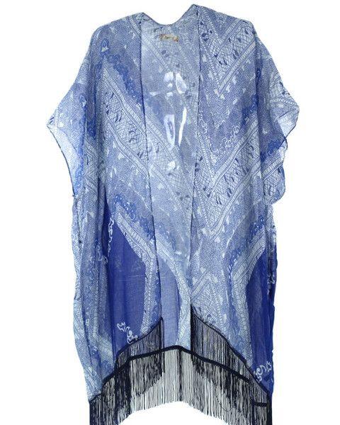 Amy Fringe Kimono