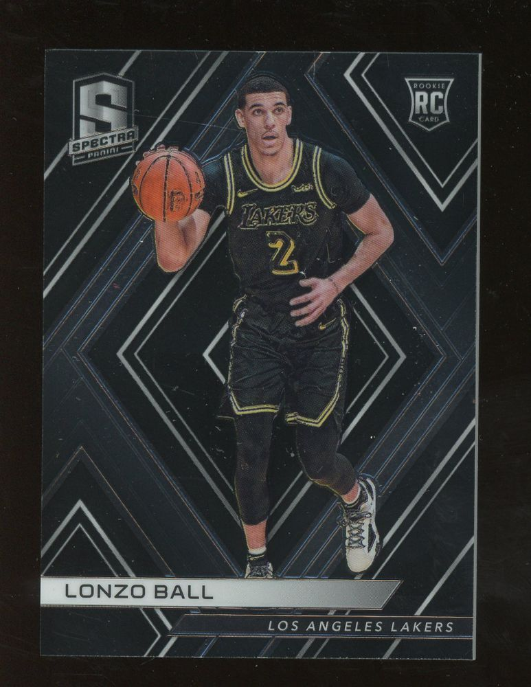 1e2255b0f 2017-18 Spectra Lonzo Ball Los Angeles Lakers RC Rookie