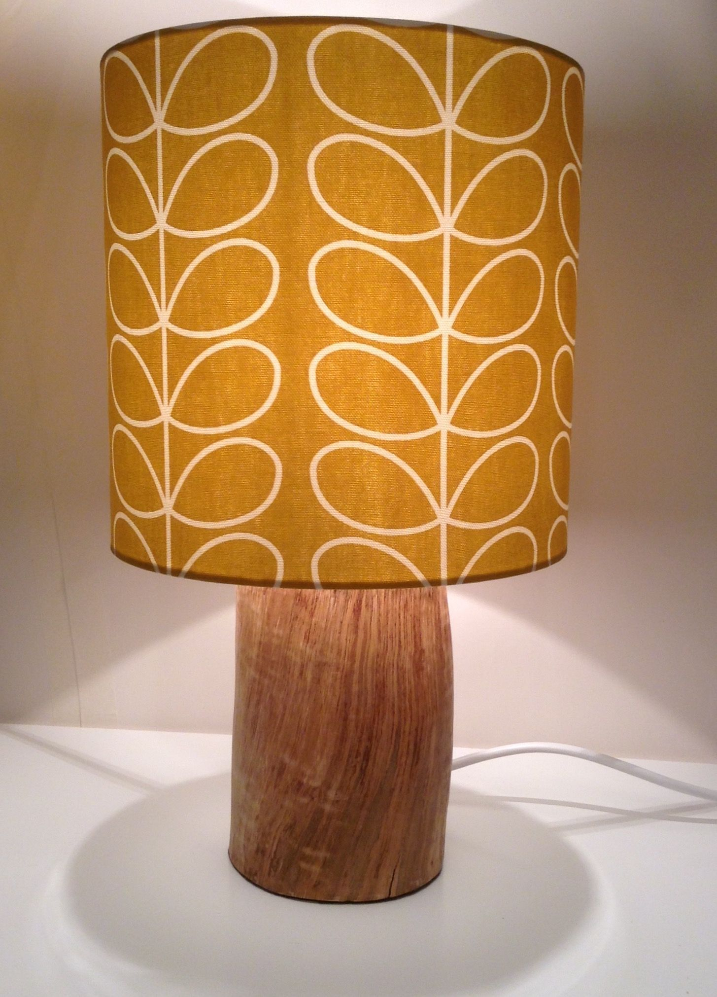 Log Lamp Wood Table Lamp Reclaimed Wood From A Eucalyptus Tree