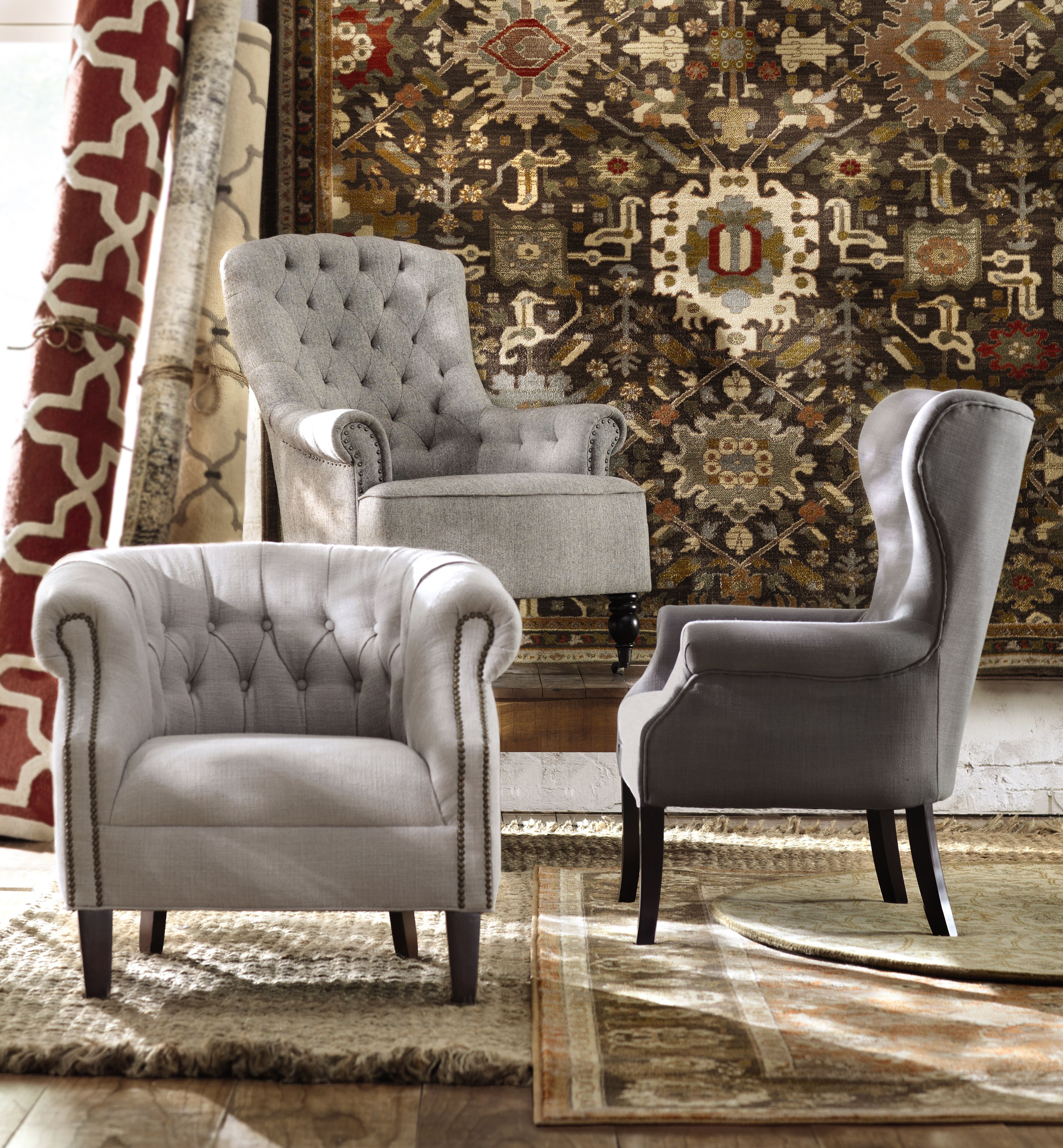 The Perfect Sofa Accent Is A Beautiful Upholstered Chair