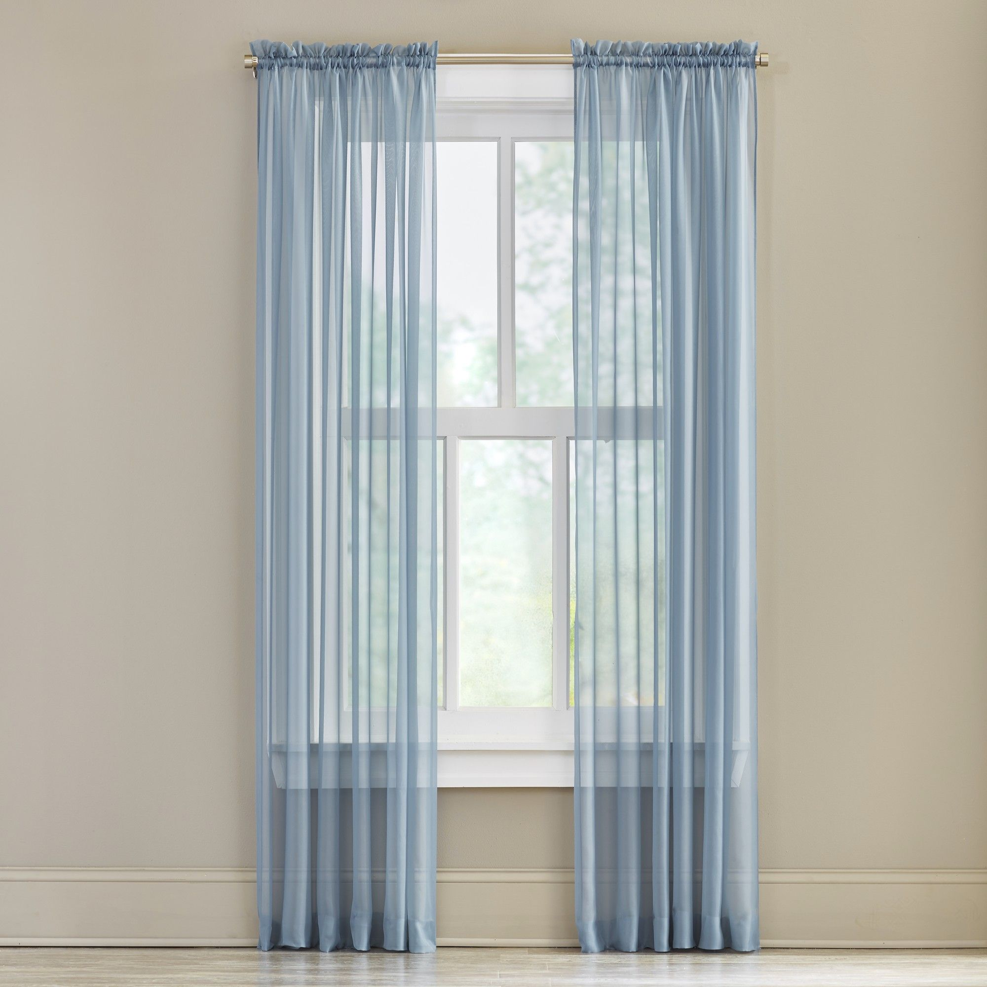linen grommet reviews blend curtain window check sheer panels plaid semi pdp main treatments joss stitched grid