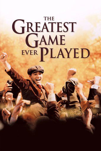 The Greatest Game Ever Played (2005) | http://www.getgrandmovies.top/movies/10531-the-greatest-game-ever-played | The Greatest Game Ever Played is a 2005 biographical sports film based on the life of 20 year old Francis Ouimet who defeated his idol,1900 US Open Champion, Harry Vardon. The film is directed by Bill Paxton