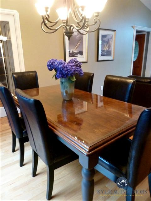 How To Refinish And Update A Maple Table Maple Tables Dining